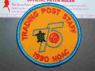 1990 NOAC TP staff patch