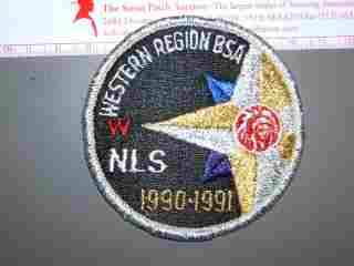 1990 Western Region NLS patch