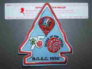 1990 NOAC balloon patch