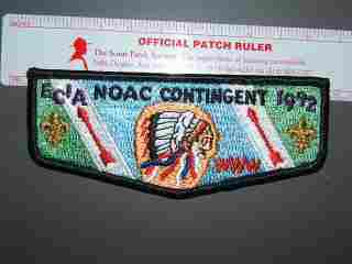 1992 NOAC EC-1A delegate flap