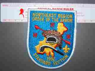 1992 NE Region Standard Section patch