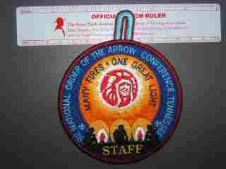 1992 NOAC staff patch