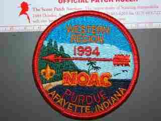 1994 NOAC Western Region patch