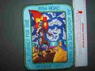 1994 NOAC back patch