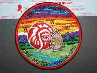 1995 OA Western Region patch