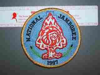 1997 National Jamboree OA patch