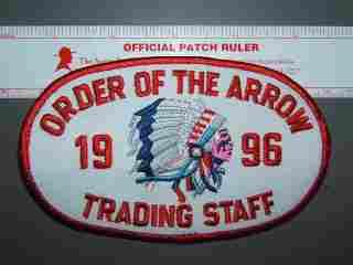 1996 NOAC Trading Staff armband
