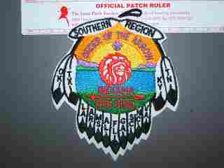 1996 NOAC Southern Region patch