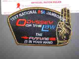 1997 National Jamboree OA Odyssey CSP patch