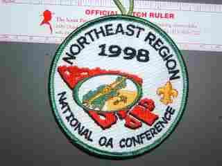 1998 NOAC NE Region patch