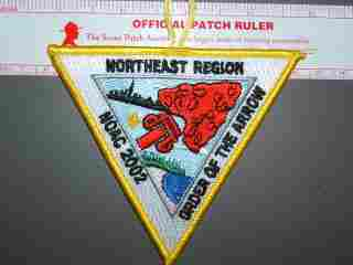 2002 NOAC NE Region patch