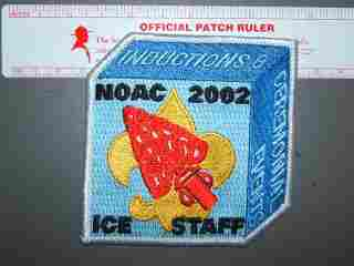 2002 NOAC ICE staff patch