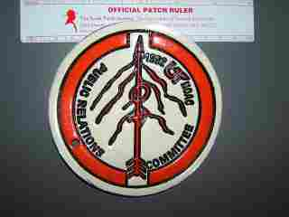 1992 NOAC Public Relations staff armband