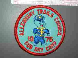 Allegheny Trails Cub Day Camp 1976